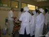 Visite du neurochirurgien en présence des étudiants infirmiers