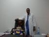 une touche de pédiatrie dans le nouveau bureau du Professeur SANOUSSI