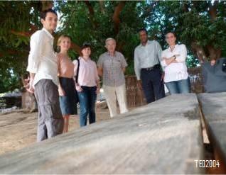 ... passe le relais à l'équipe de la mission 2 : Francis, Mathilde, Sophie, Christian, Samuila, Jessica