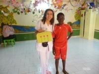Mouna et Sani, le bras droit de Fati