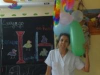 et Mouna, au frais, dans la Maison des Enfants !