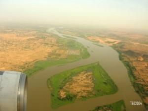 survol du fleuve Niger