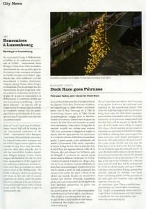 City news Luxembourg - mars 2009