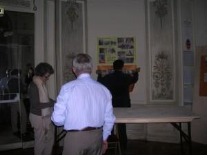 Préparation du stand Teo2004