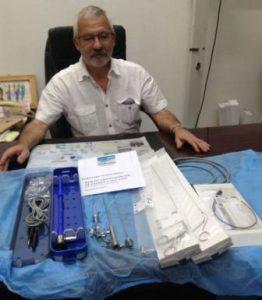 L'endoscope est arrivé à Niamey !